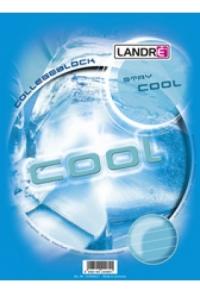 "Collegeblock ""COOL & HOT"", DIN A4+,"
