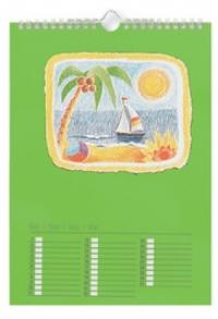 Bastelkalender farbig