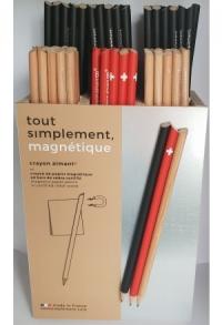 Magnetischer Bleistift Schwarz